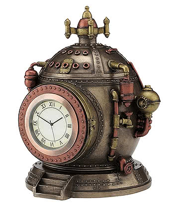 Nemesis Now Mechanics Of Time - Sculpture Steampunk En Résine - Ornement (Bronze)