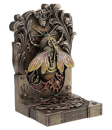 Nemesis Now Steambee Sculpture Steampunk Ornement Décoratif En Résine (Bronze)