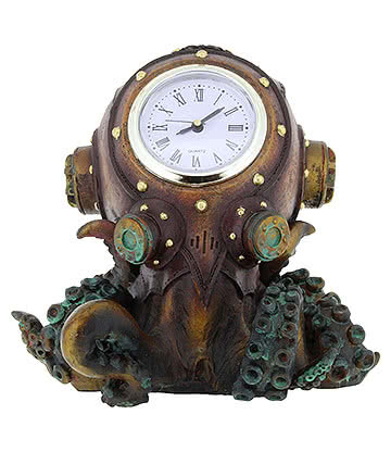 Nemesis Now Clocktopus (Bronze)