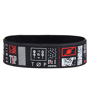 Twenty One Pilots Symbol Wristband (Black)