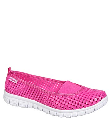 Holees Ballerina Shoes (Pink/White)