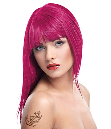 Herman's Amazing Semi-Permanent Hair Colour 115ml (Peggy Pink)