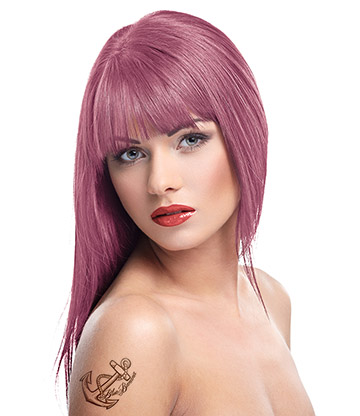 Herman's Amazing Semi-Permanent Hair Colour 115ml (Polly Pink)