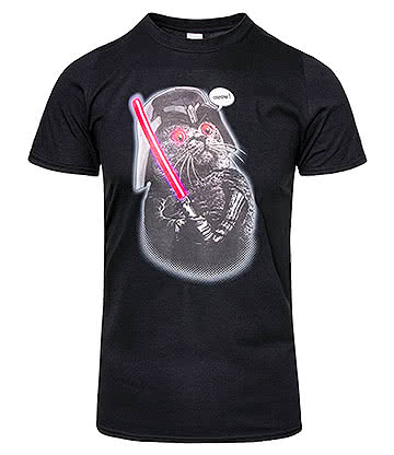 Adam Lawless Darth Meow T Shirt (Black)