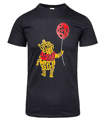 Blue Banana Oh Bother T Shirt (Black)