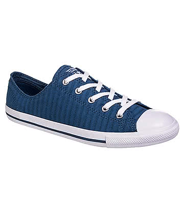 Converse All Star Dainty Ox Shoes (Blue Coast/White)