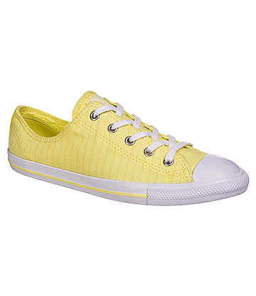 Converse All Star Dainty Ox Shoes (Lemon Haze)