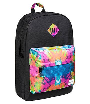 Spiral Tie Dye Trance OG Backpack (Black)