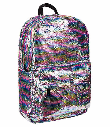 Spiral Rainbow Sequins OG Backpack (Multicoloured)