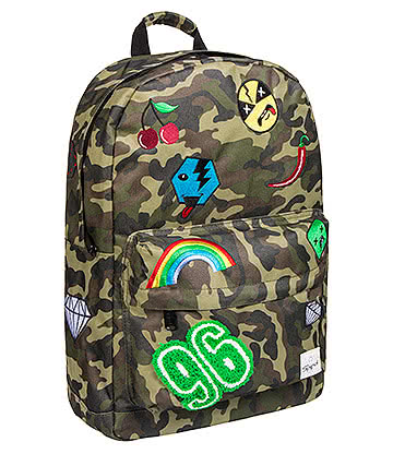 Spiral Jungle Camo Patch OG Backpack (Green)