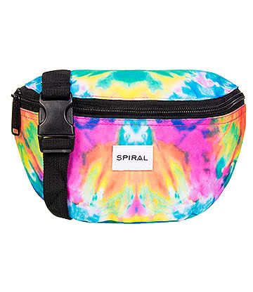 Spiral Tie Dye Trance Bum Bag (Multicoloured)