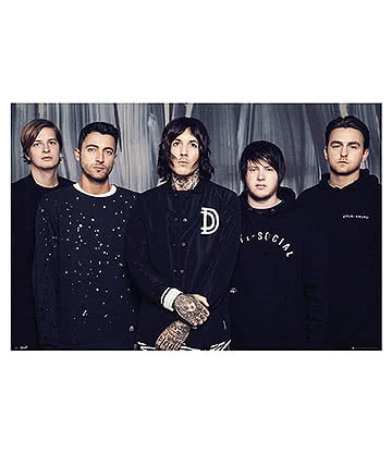 Official Bring Me The Horizon Umbrella Poster (Multicoloured)
