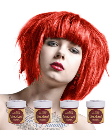 La Riche Directions Colour Hair Dye 4 Pack 88ml (Coral Red)