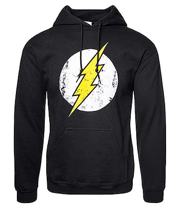 DC Comics The Flash Logo Hoodie (Black)