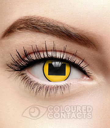 Sage 90 Day Coloured Contact Lenses (Yellow)