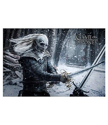 Game Of Thrones White Walker Poster (Multicoloured)