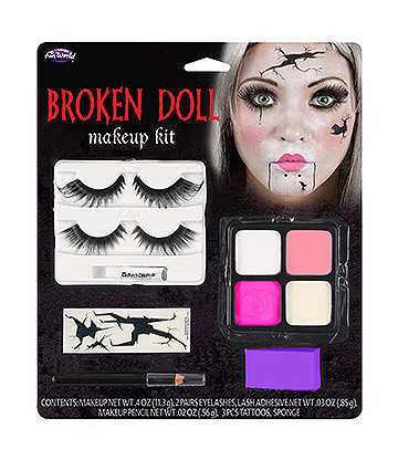 Blue Banana Broken Doll Make Up Kit