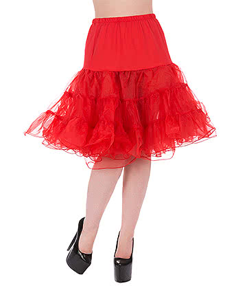 H&R 22 Inch Petticoat (Red)