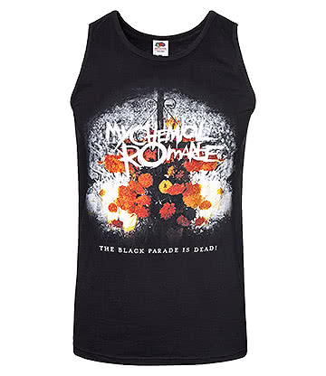Official My Chemical Romance The Black Parade Is Dead Vest (Black)
