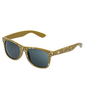 Hype Speckle Sunglasses (Mustard)