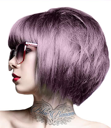 Crazy Color Semi-Permanent Hair Dye 100ml (Ice Mauve)