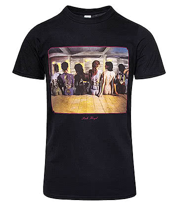 Official Pink Floyd Back Catalogue T Shirt (Black)