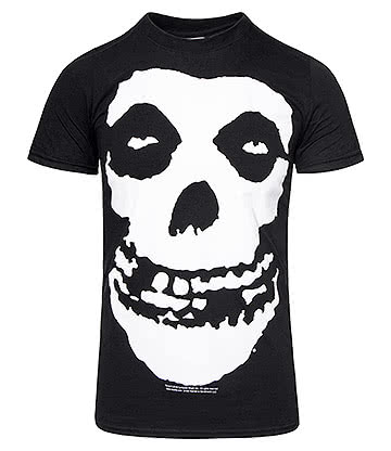 Official Misfits The Skull T Shirt (Black)