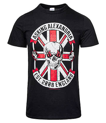 Official Asking Alexandria Rebel T Shirt (Black)