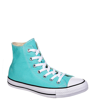 Converse All Star Hi Top Boots (Light Aqua)