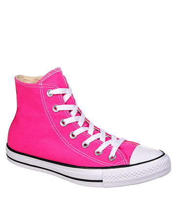 Converse All Star Hi Top Boots (Pink Power)