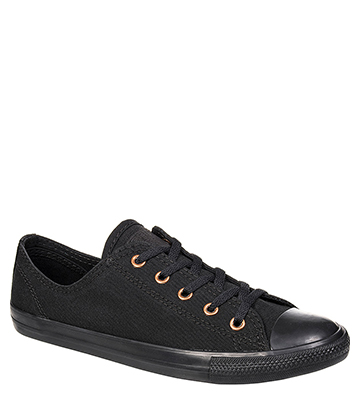 Converse All Star Dainty Ox Shoes (All Black)