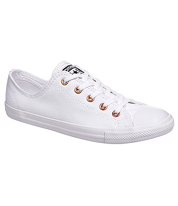 Converse All Star Dainty Ox Shoes (All White)