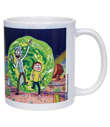 Rick & Morty Portal Mug (White)