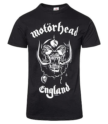 Official Motorhead England T Shirt (Black)