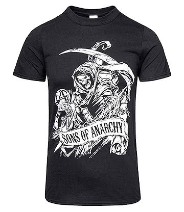 Sons of Anarchy Grim T Shirt (Black)