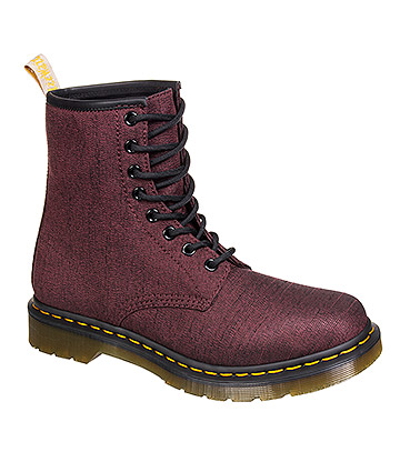 Dr Martens Serge Vegan Boots (Cherry Red)