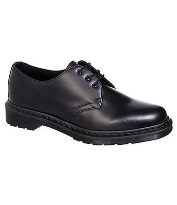Dr Martens 1461 Smooth Shoes (Mono Black)