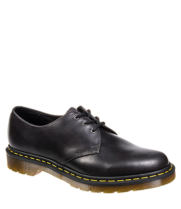 Dr Martens 1461 Gunmetal Orleans Shoes (Charcoal)