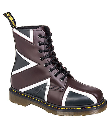 Dr Martens Pascal Union Jack Boots (Multicoloured)