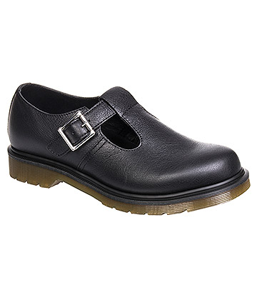 Dr Martens Polley Virginia Shoes (Black)