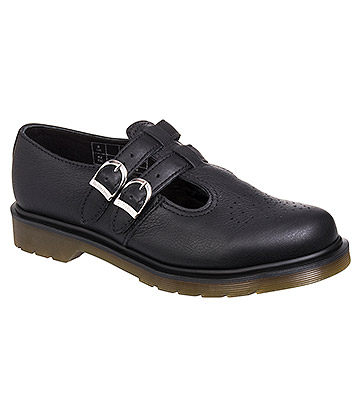 Dr Martens 8065 Virginia Shoes (Black)