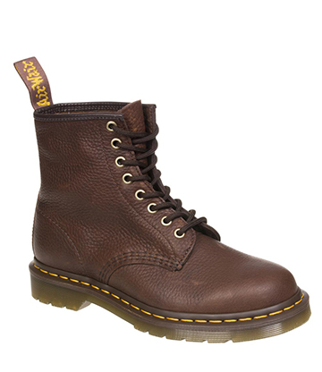 Dr Martens 1460 Grizzly Boots (Bark)