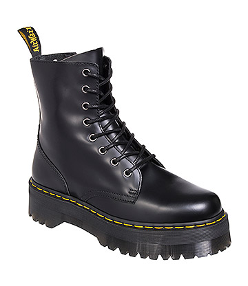 Dr Martens Jadon Polished Boots (Black)