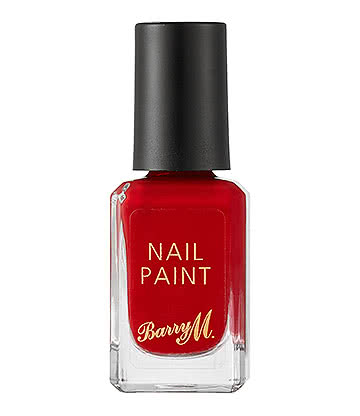 Barry M Siren Classic Nail Paint (Red)