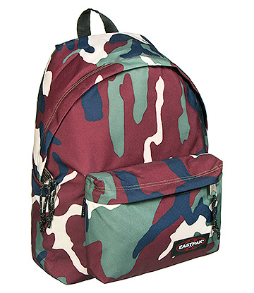 Eastpak Padded Pak'r Backpack (Green Camo)