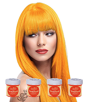 La Riche Directions Colour Hair Dye 4 Pack 88ml (Apricot)