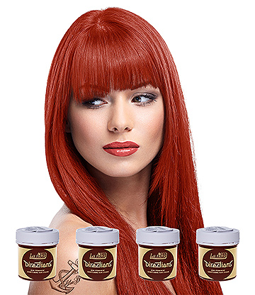 La Riche Directions Colour Hair Dye 4 Pack 88ml (Flame Red)