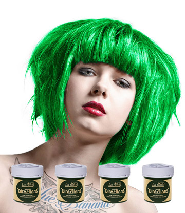 La Riche Directions Colour Hair Dye 4 Pack 88ml (Spring Green)