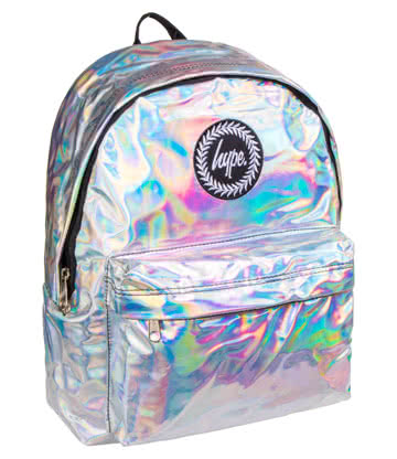 Hype Holographic Backpack (Grey)