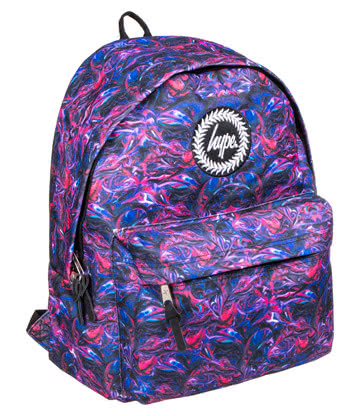 Hype Paint Swirls Backpack (Multicoloured)